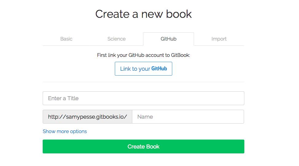 Import using GitHub