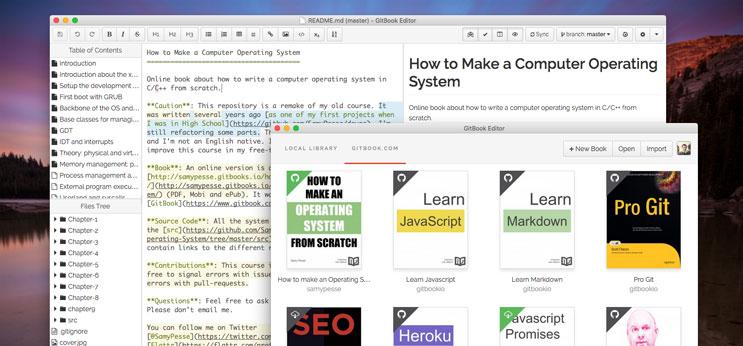 GitBook Desktop Editor